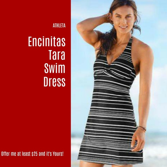 934f8a6a702 NEW ATHLETA ENCINITAS TARA SWIM DRESS 38D DD (S6)